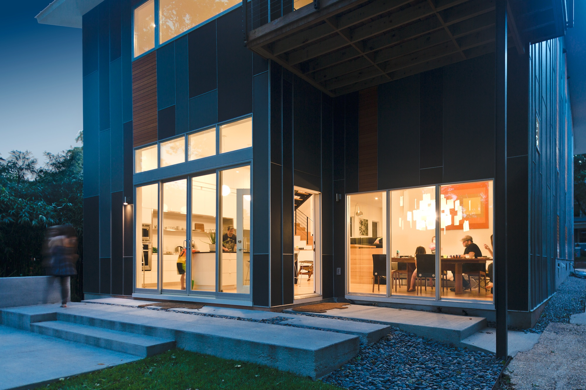 Hawthorne Residence Kitchen and Dining: featured in DWELL Magazine 'Your Rooms We Love' issue