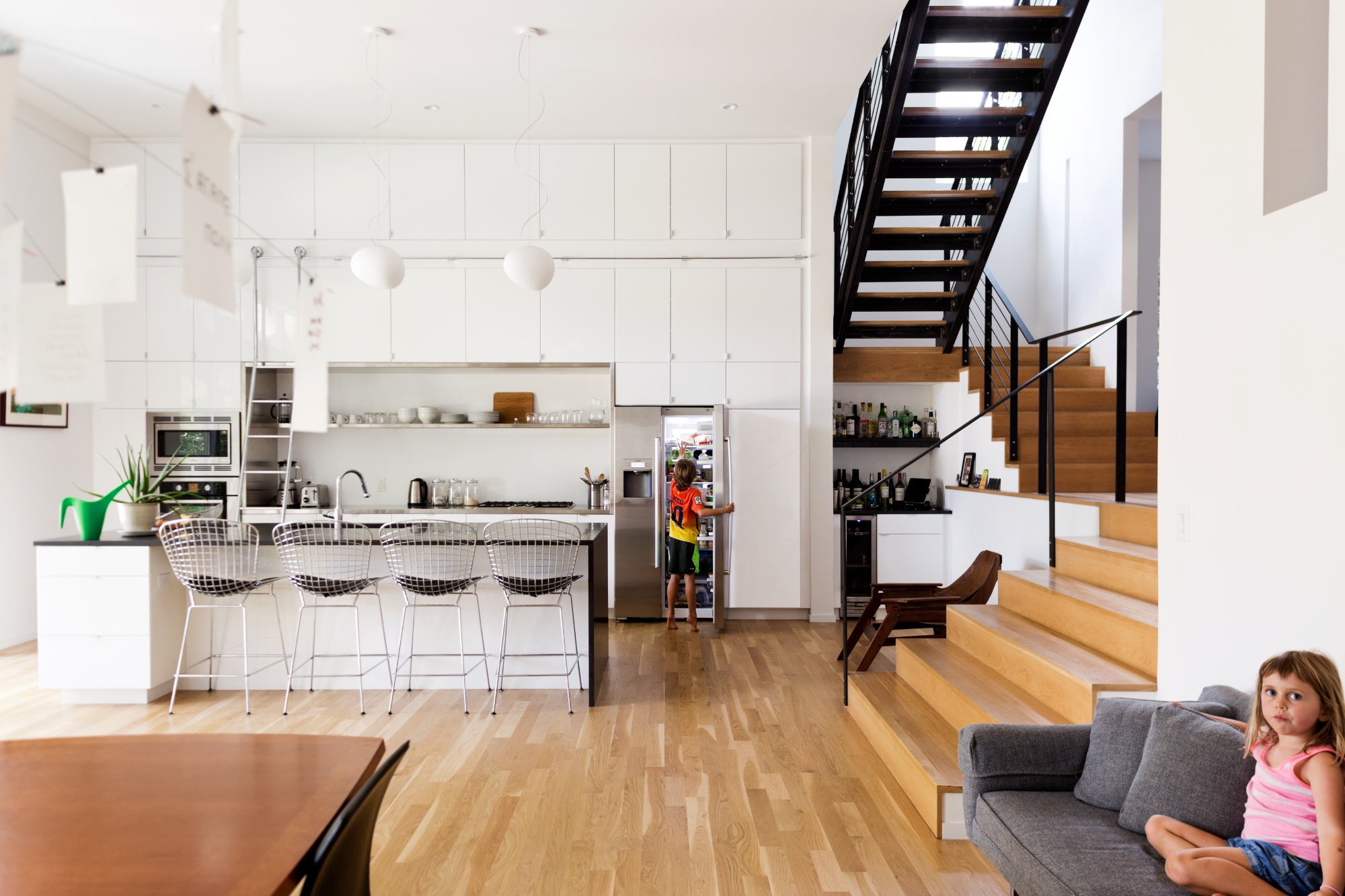 Hawthorne Residence Kitchen: featured in DWELL Magazine 'Your Rooms We Love' issue