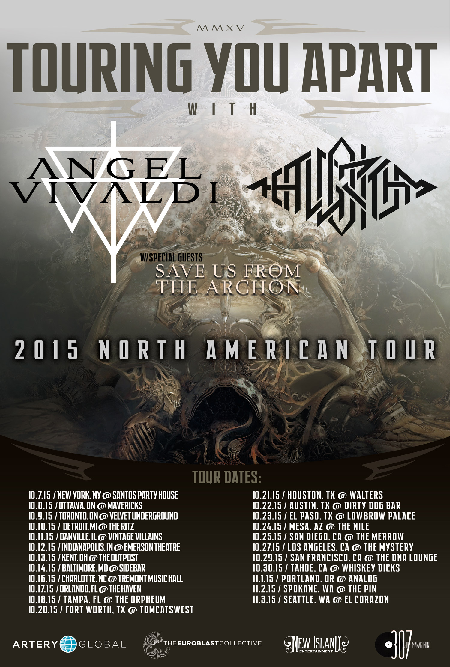 Touring You Apart 2015 North America The Algorithm