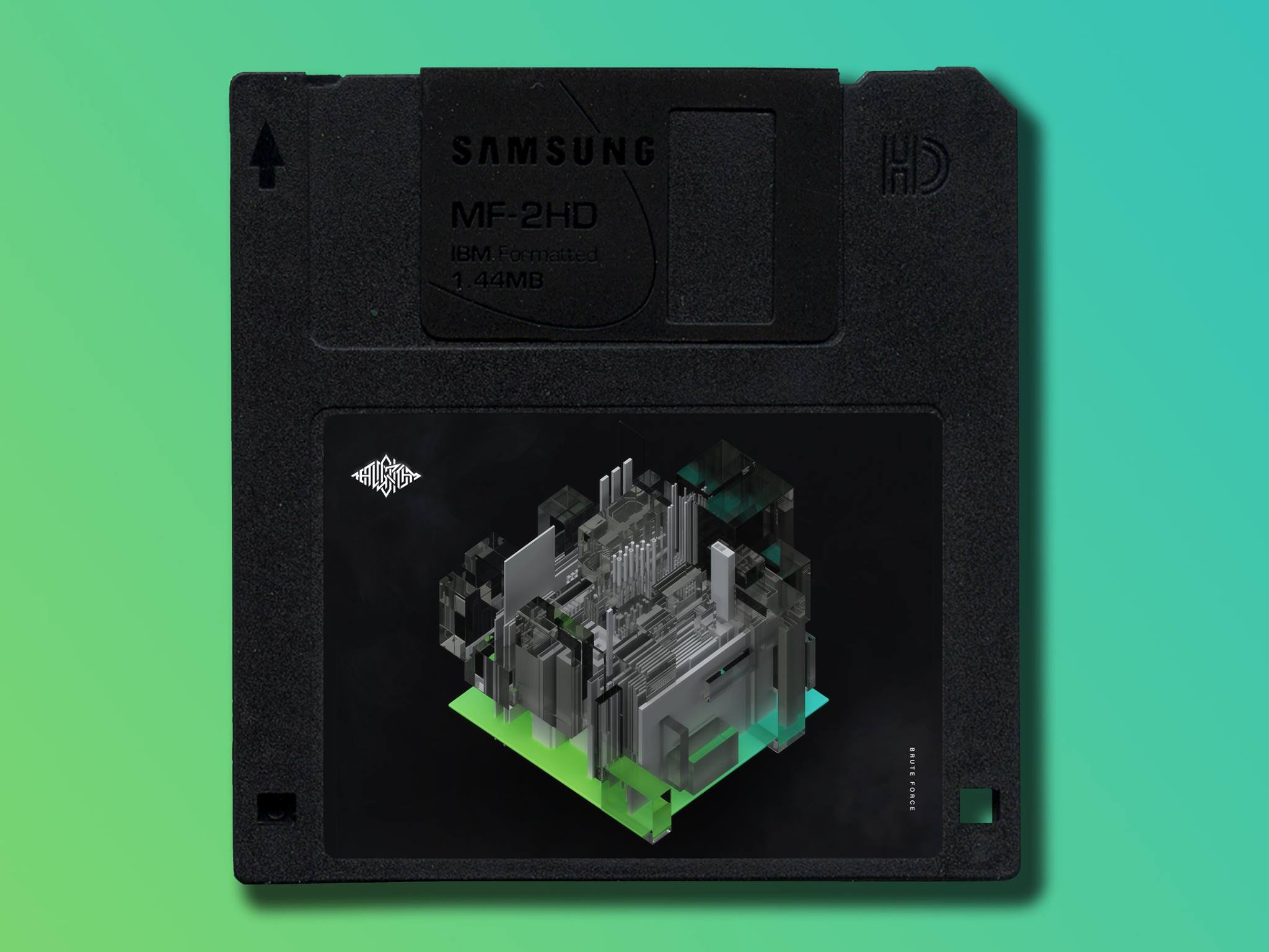 Brute Force Floppy Disk