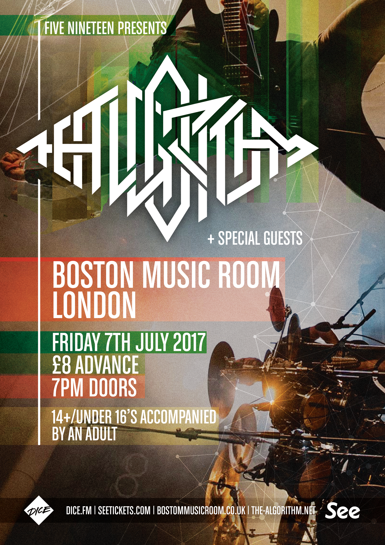 The Algorithm London Boston Music Room 7th July 2017