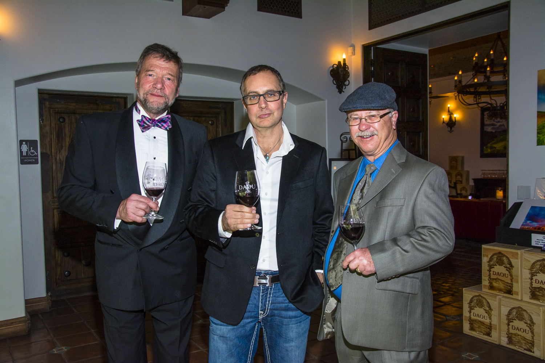 George Skorka, Rust Sly & Daniel DAOU;  Photo by Chazz Roberts