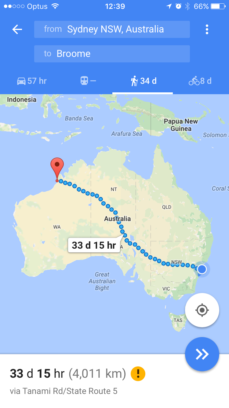 You can just the width of the country in just 34 days and a dozen snake attacks.