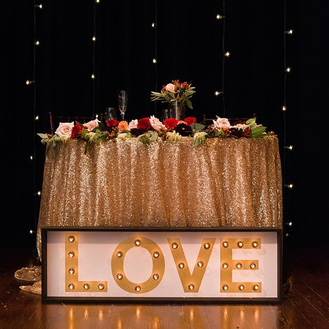 All you need is...#love Flash back to Angela and Tyler's gorgeous wedding #michiganwedding #michiganweddingphotographer #gemtheatre #detroitwedding #realwedding #details