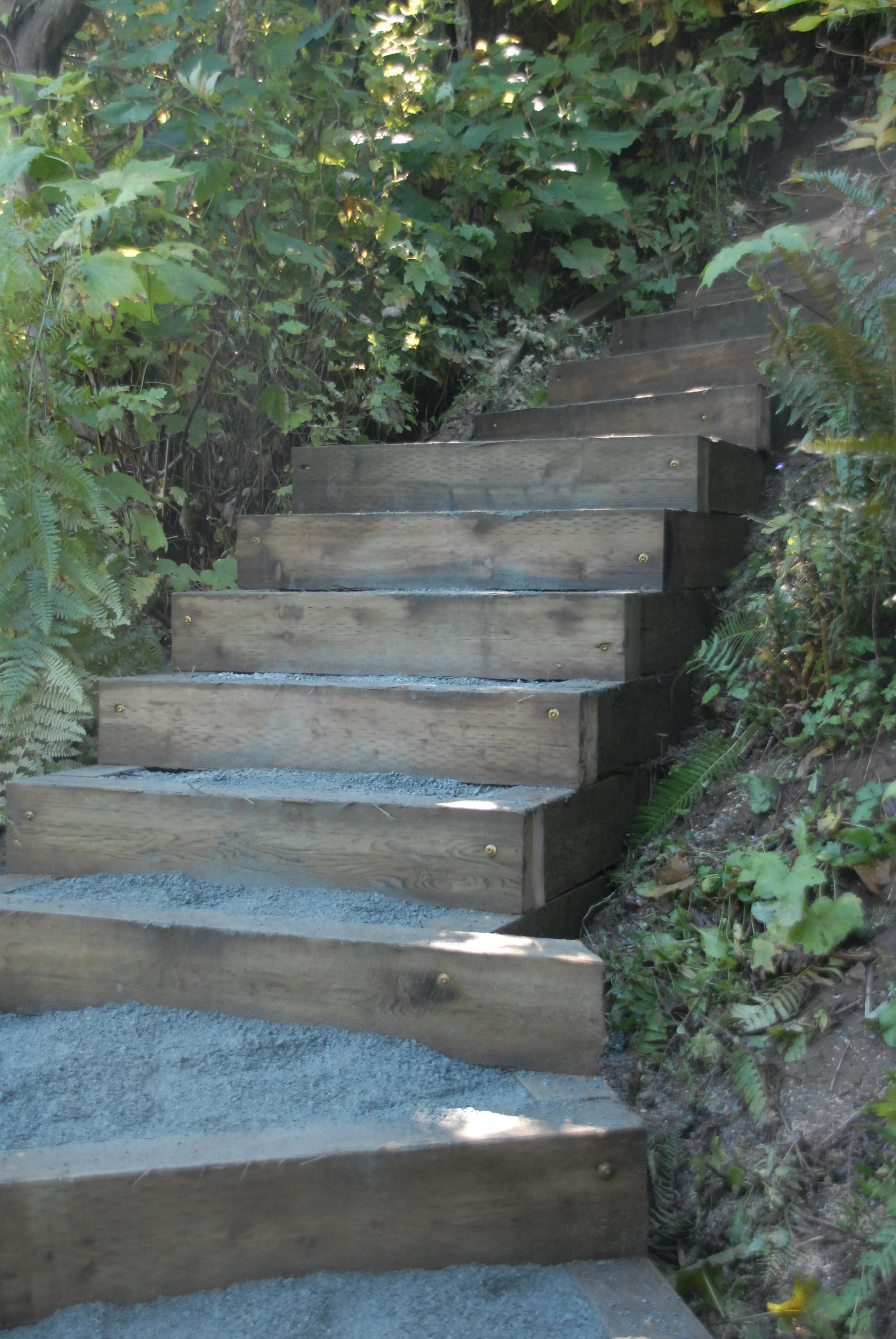 Pressure Treated Timber Stairs