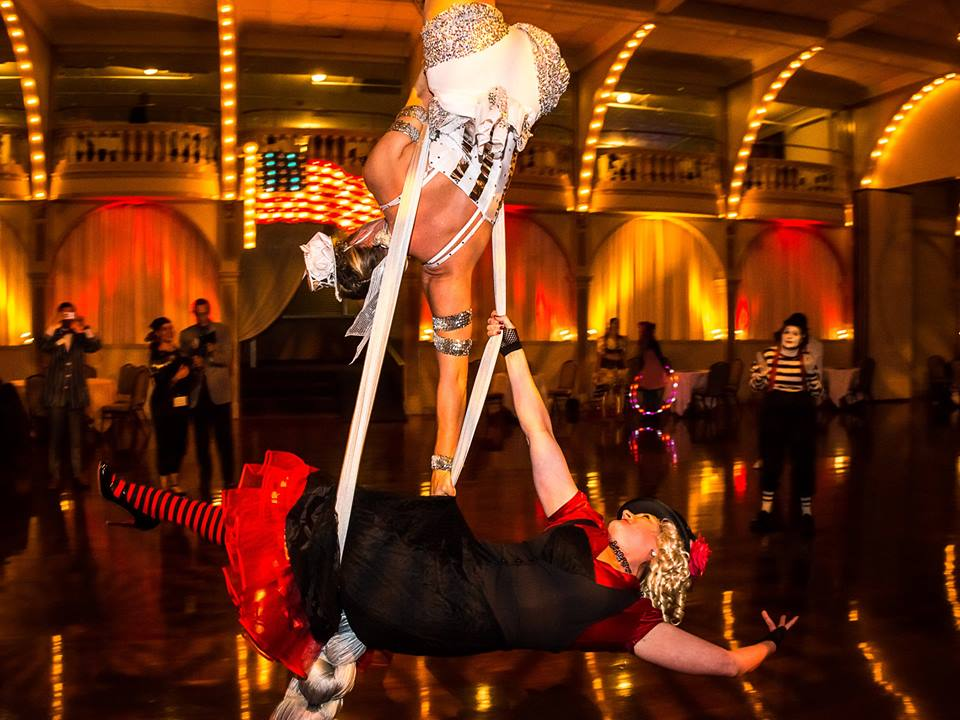 Aerialist performance from LRI's Greatest lil' State and graduation party 2015