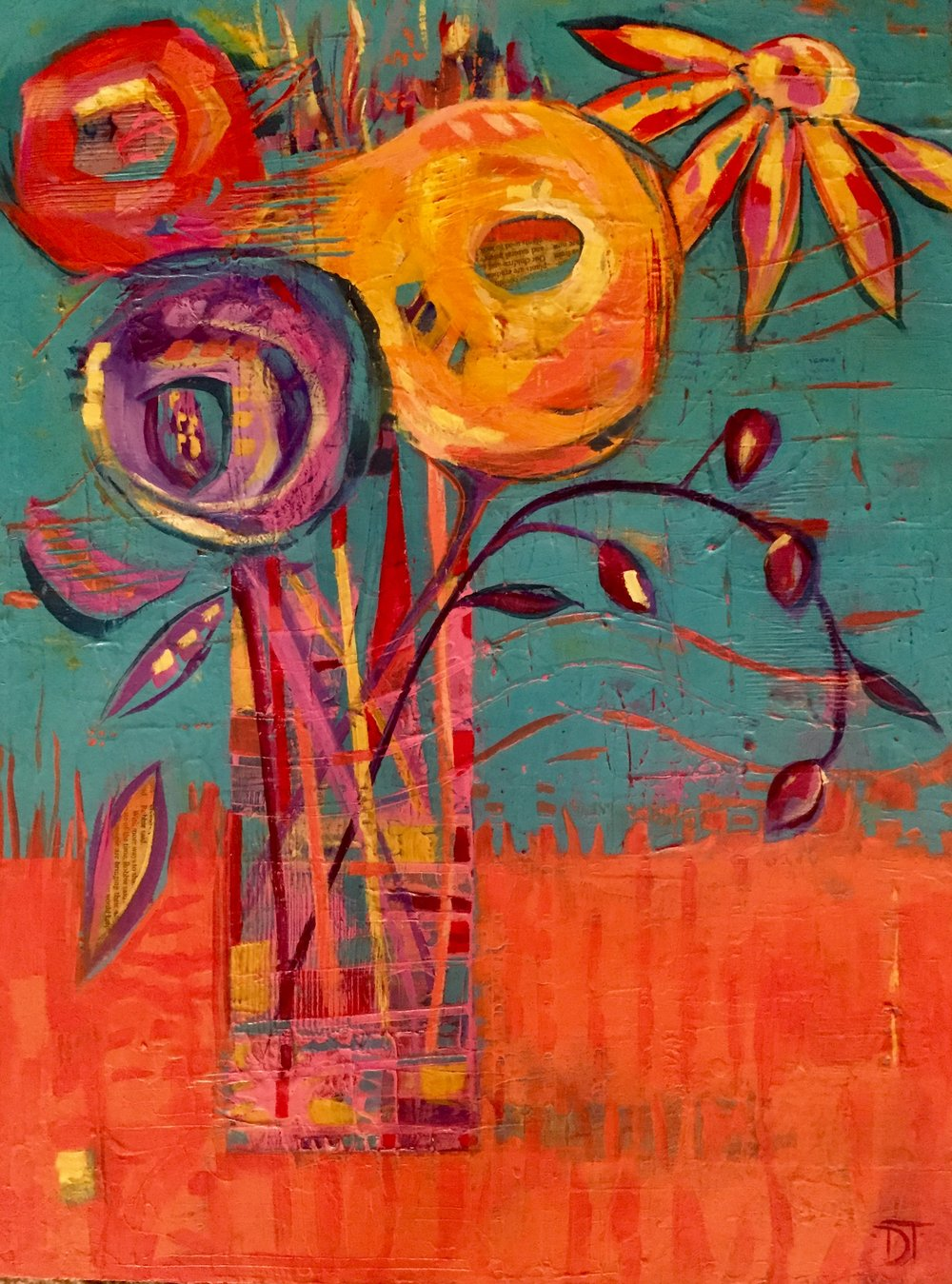 """2018 - Federation of Canadian Artists """"First Place Award"""" for the juried exhibition Spring Palette 2018 show at the Osoyoos Gallery, given for the painting """"Robbie Said""""."""