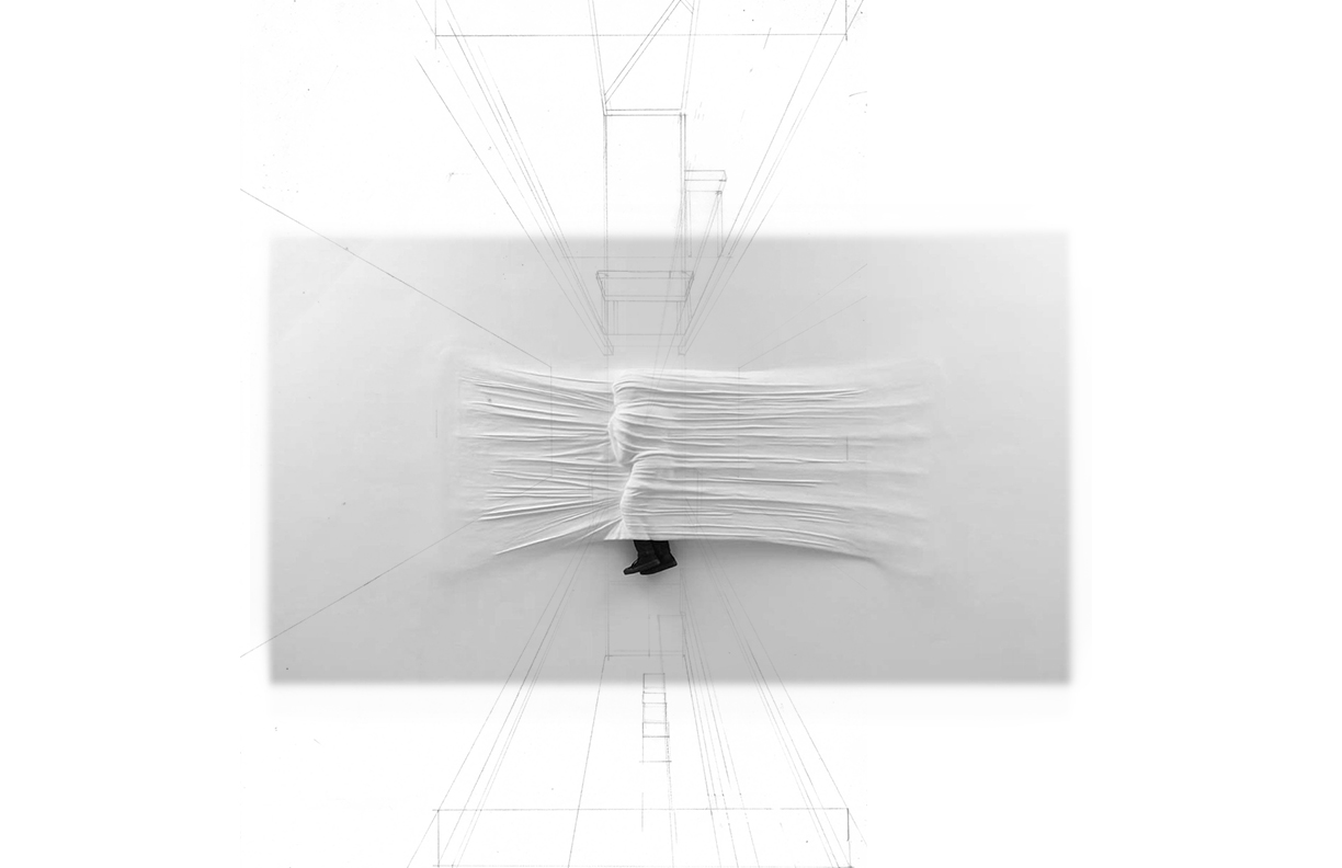 mediated image (credit: daniel arsham) by author