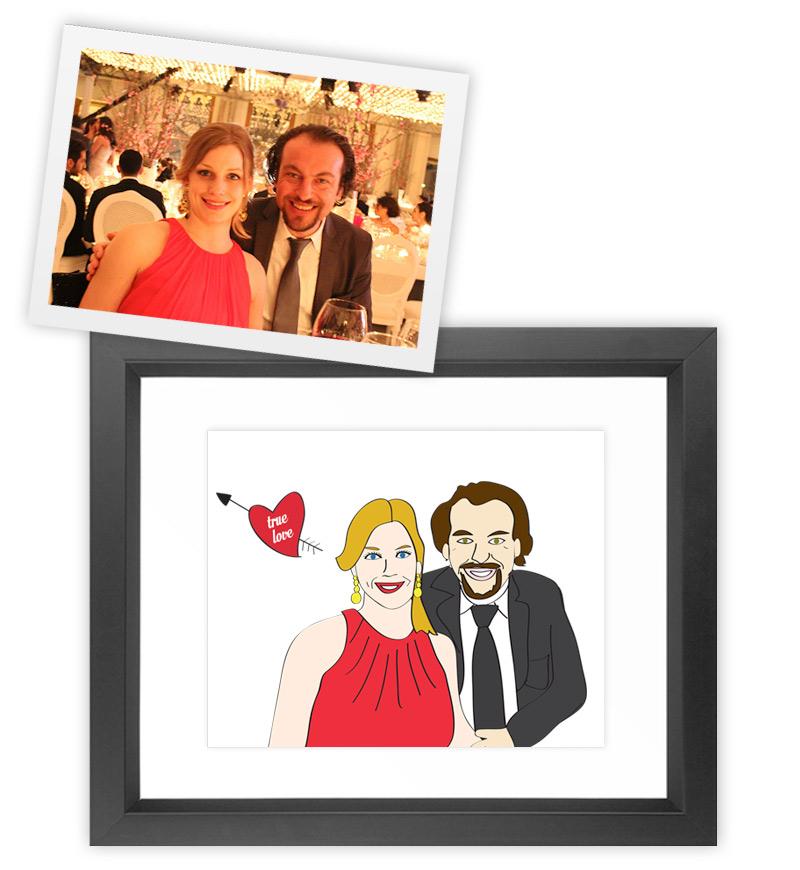 Wedding gift for Jessica and Okan