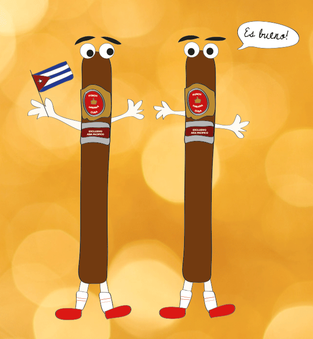 Cuban cigars are happy they no longer have to be smuggled in embarrassing places.