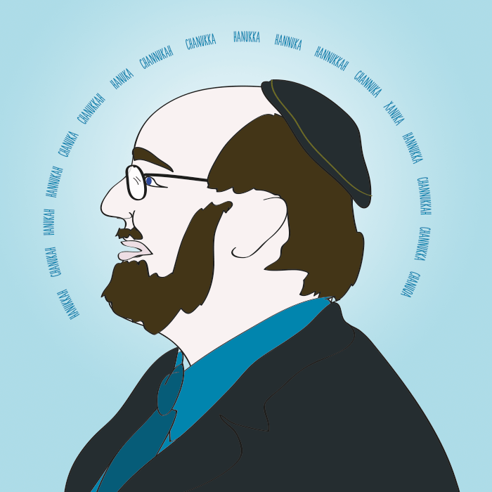 Rabbi Schmuley wishes you a Happy Hanukkah, no matter which way you spell it.
