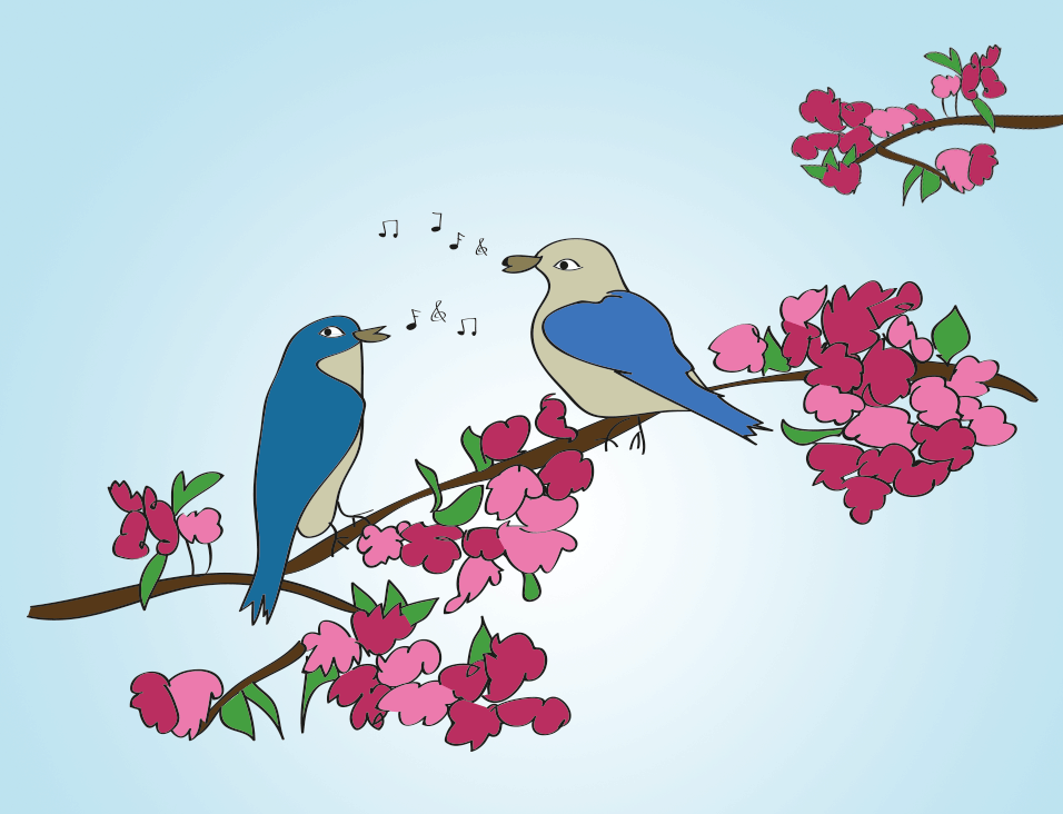 The Spring Equinox is here! Time for new beginnings and singing birds!