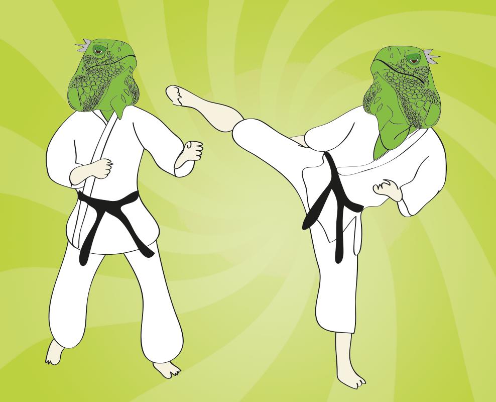 kung-fu-iguanas