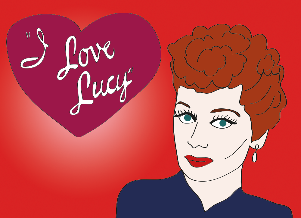 Lucille Ball, one of the original funny ladies