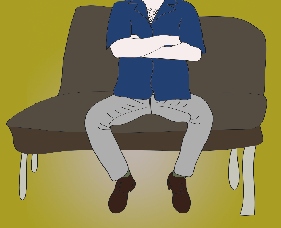 Manspreading - don't let this happen to you