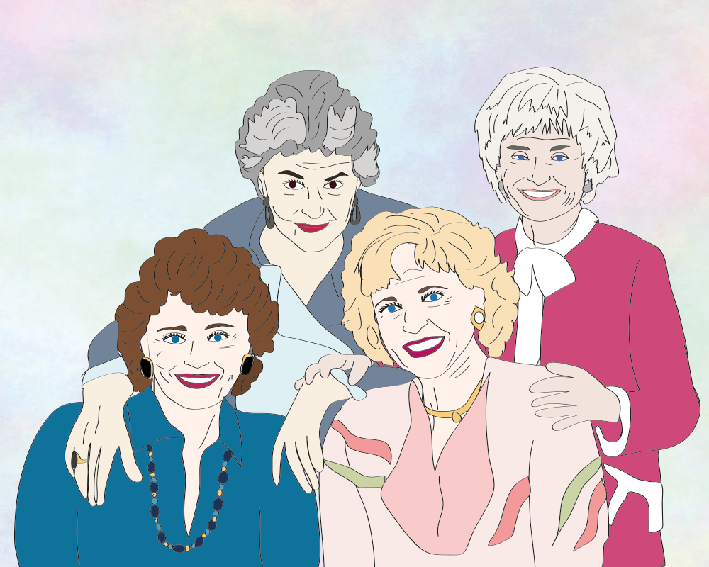 Celebrating 30 years of The Golden Girls, which means 30 years of shoulder pads, cheesecake and all sorts of sass.