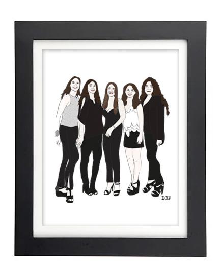 cusotm-illustration-girls
