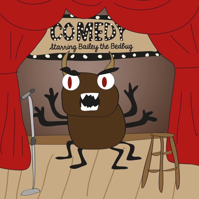bailey  the bedbug howard stern show