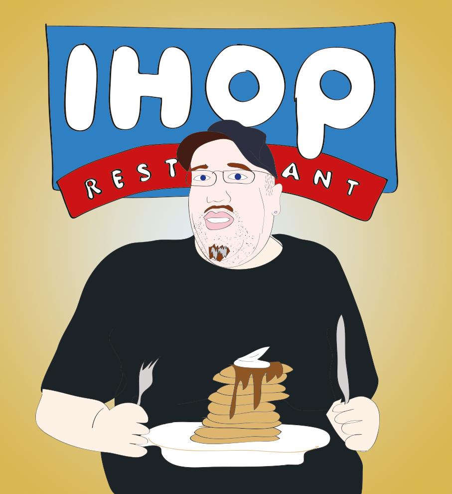 High Pitch Erik Loves iHop Pancakes