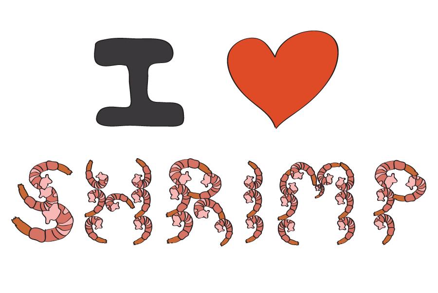 I LOVE SHRIMP