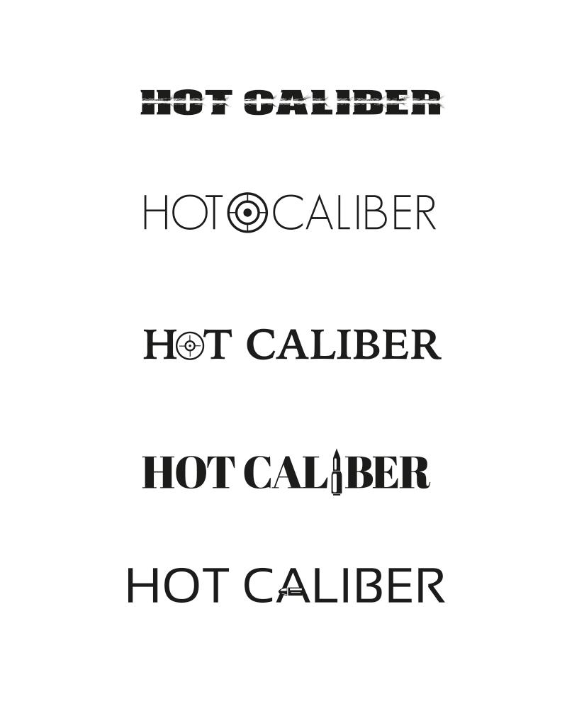 Hot Caliber Logo Concepts
