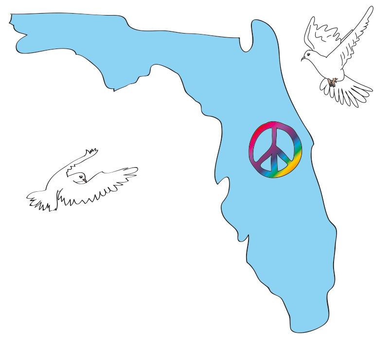 Peace to Orlando, Florida