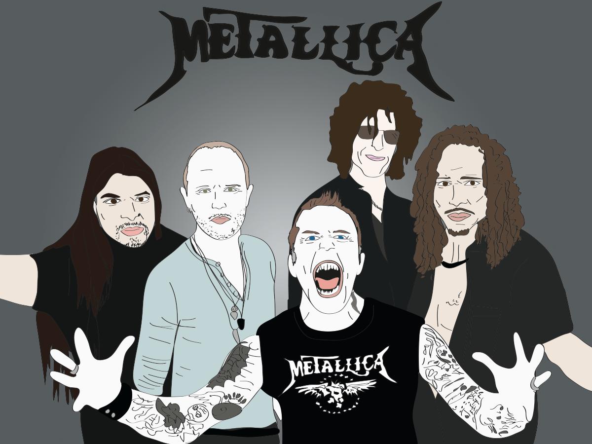 Howard Stern and Metallica