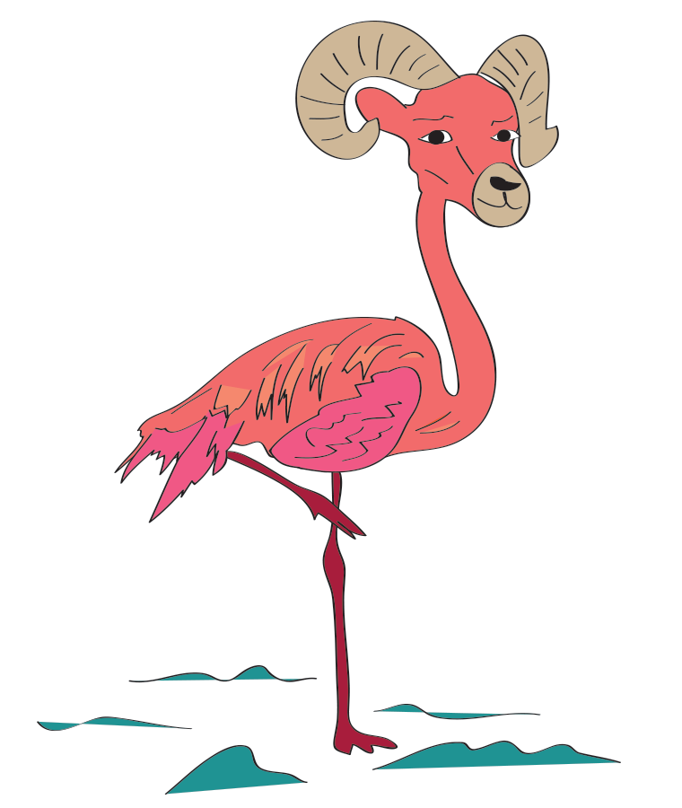 Hybrid Animals, FLAMINGORAM