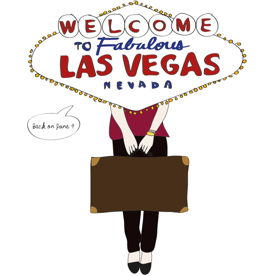 Las Vegas illustration