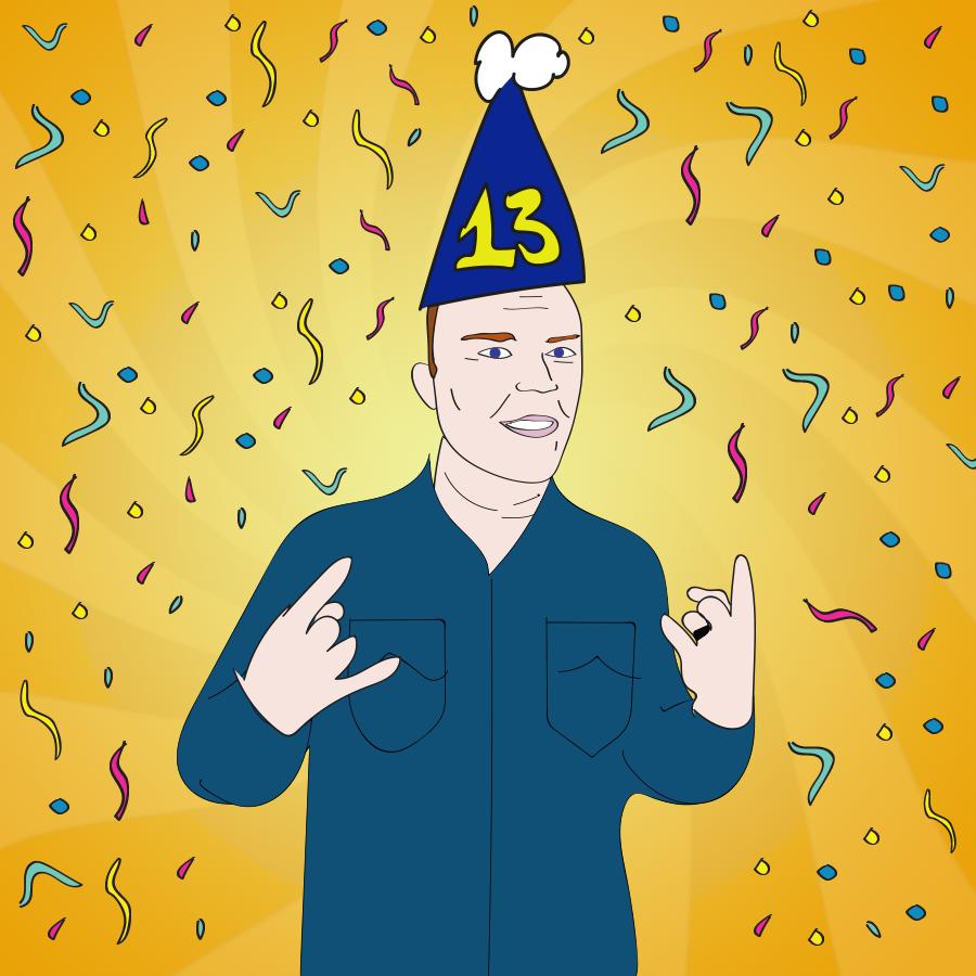 Richard Christy celebrates 13 years on The Howard Stern Show