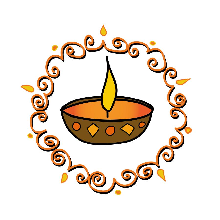 Happy Diwali, illustration