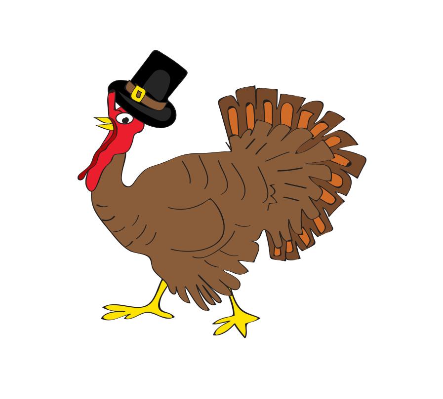 Happy Thanksgiving 2017, illustration