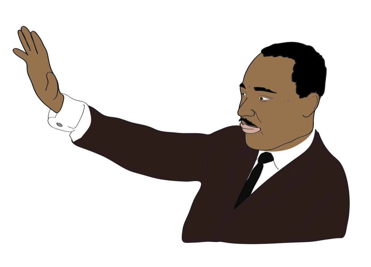 Martin Luther King, Jr illustration