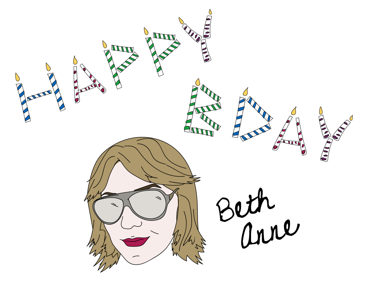 Happy birthday Beth Anne Bonanno