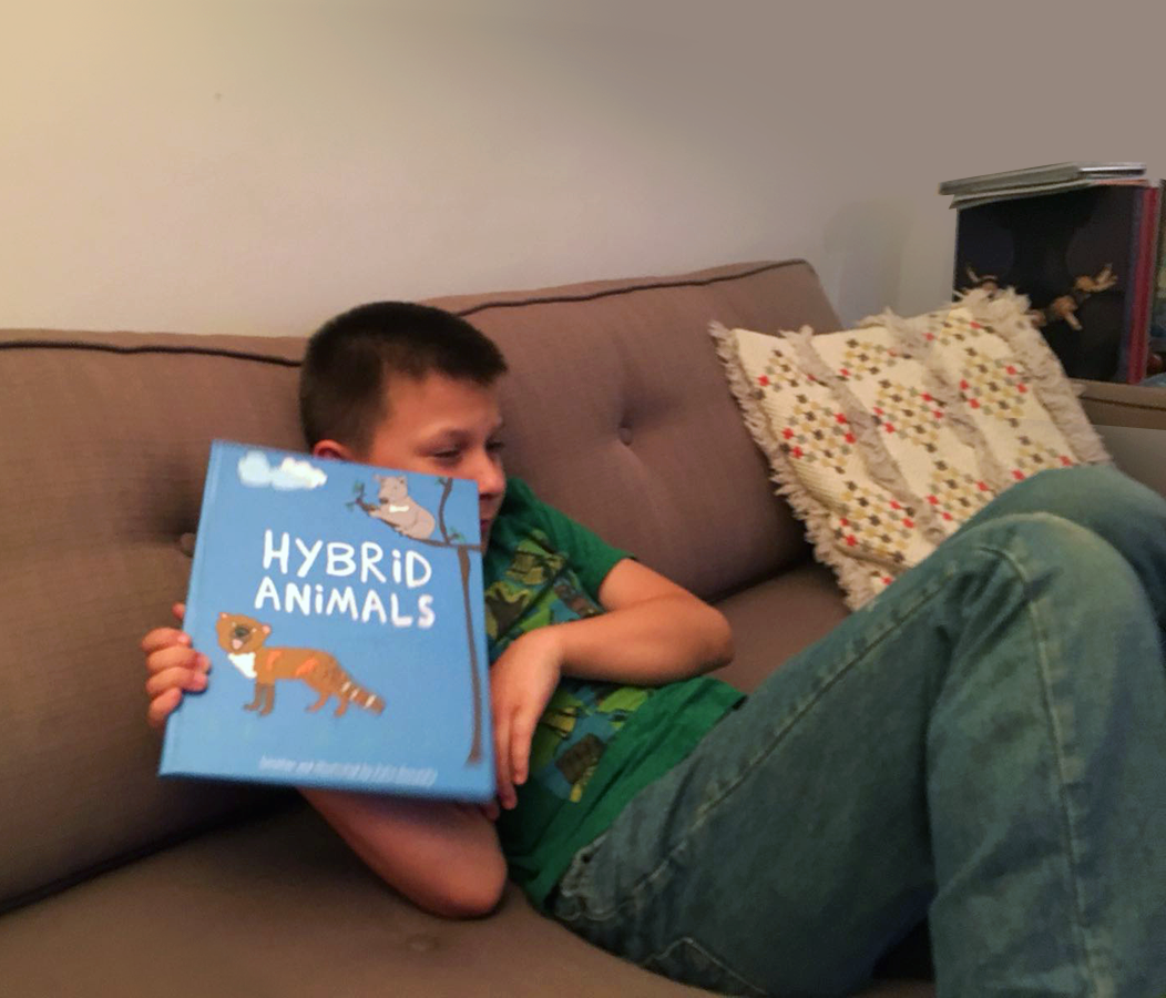 Hybrid Animals book by Julia Gomelsky, Drawn for You