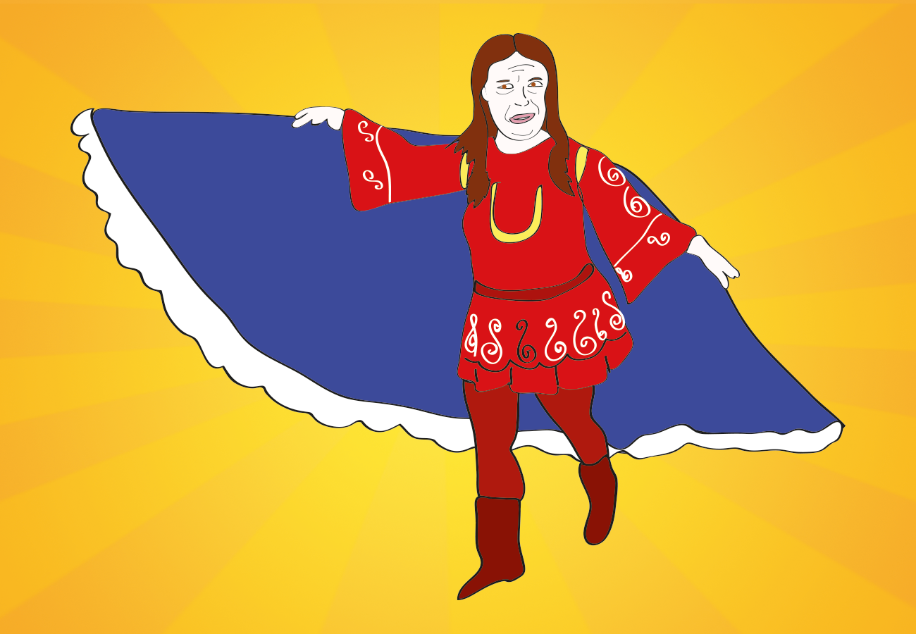 Underdog Lady, Suzanne Muldowney illustration