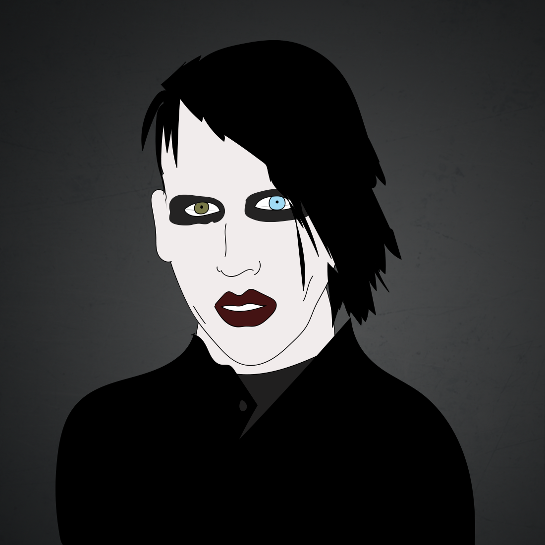 illustration of Marilyn Manson
