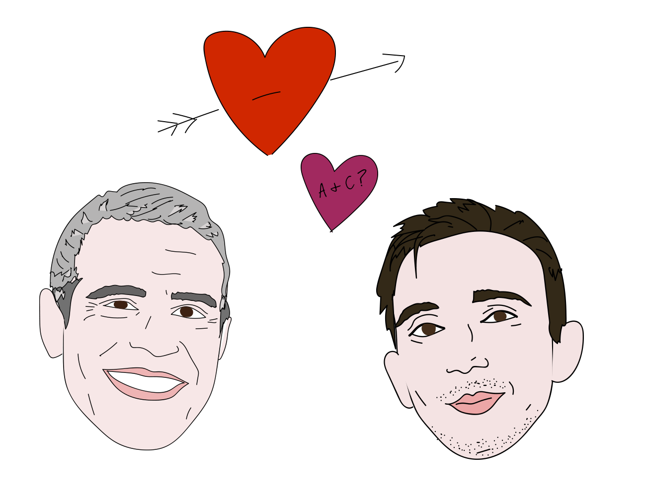 Andy Cohen and Chris Wilding