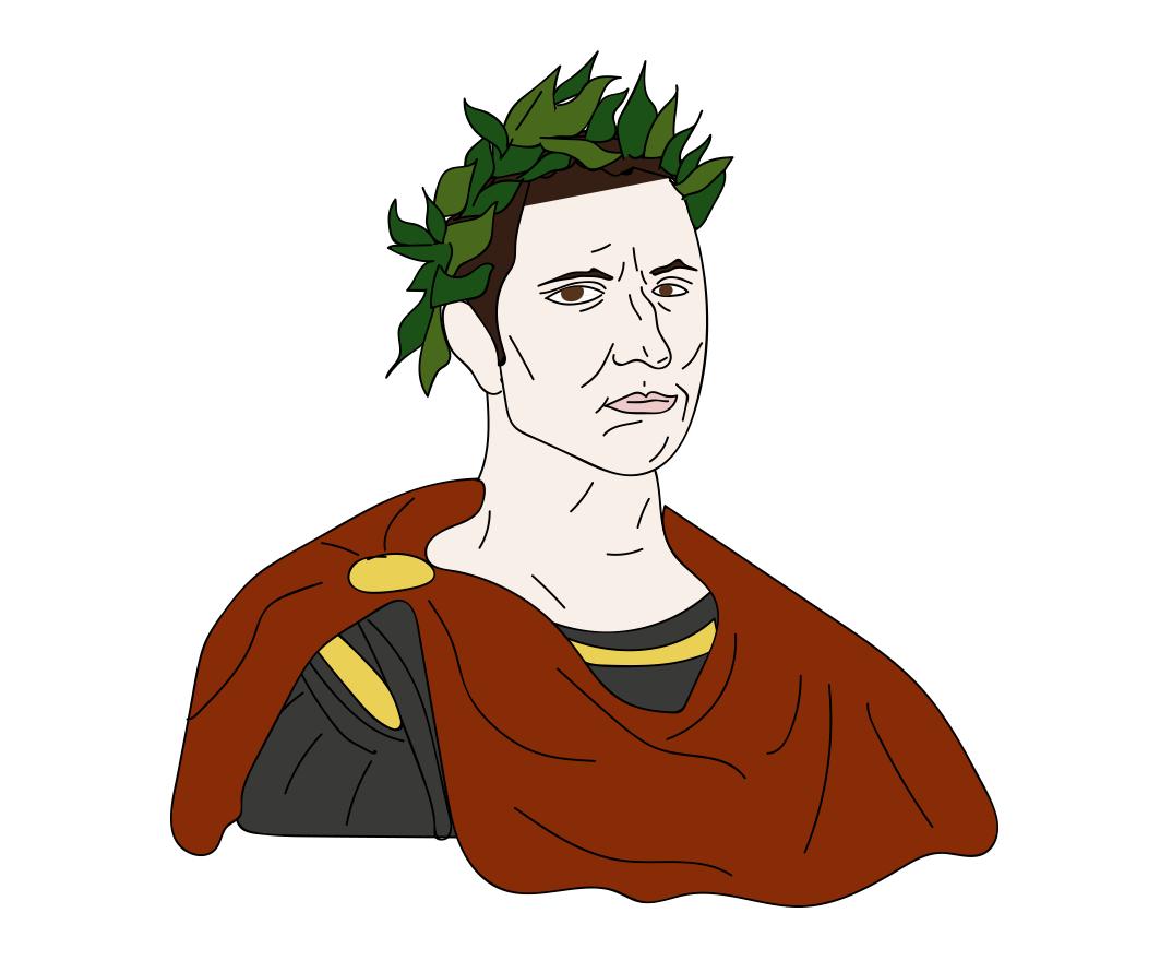 Ides of March, Julius Caesar illustration