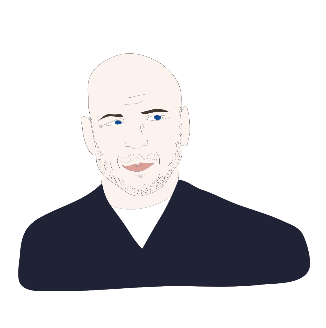 Bruce Willis illustration