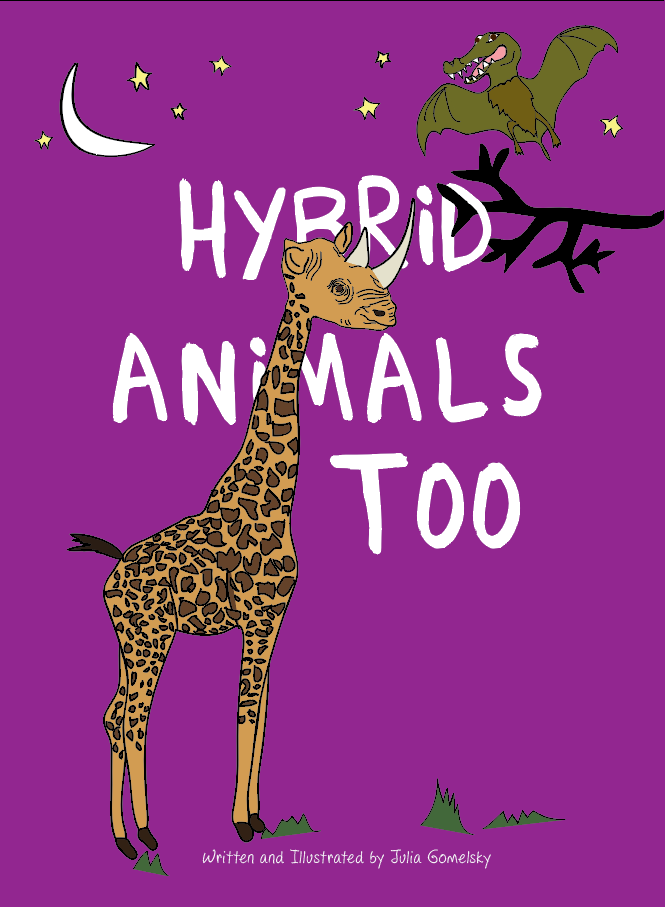 Children's book, Hybrid Animals Too
