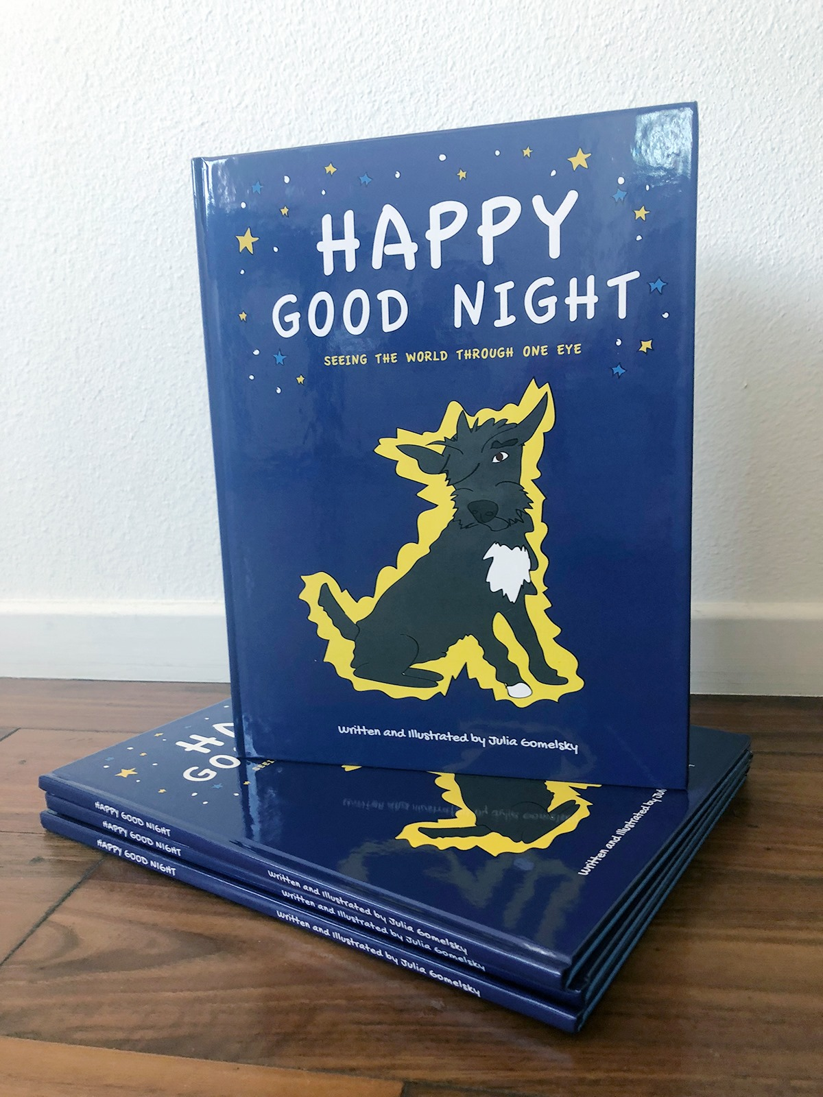 Happy Good Night children's book by Julia Gomelsky
