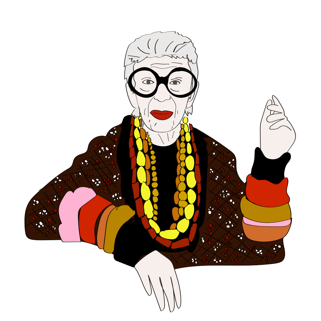 Happy birthday Iris Apfel