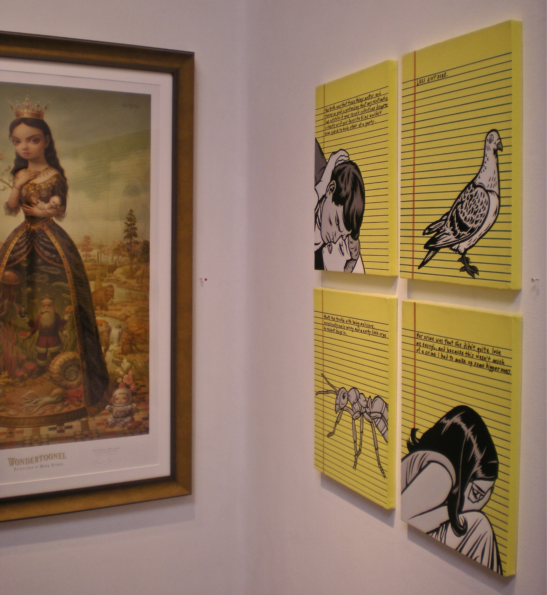 """""""Barely Legal"""" series. (Group show, w/ Mark Ryden)"""