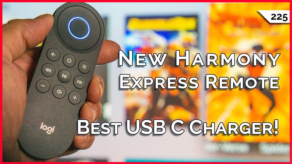 Harmony Express Universal Remote Packs Amazon Alexa, Best USB C