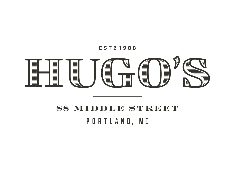 Hugo's Logotype in Lockup