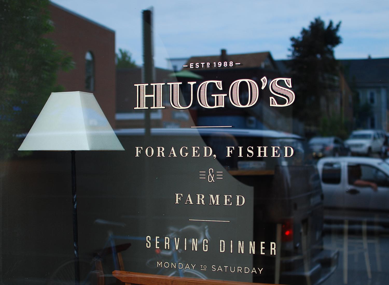 Hugo's Logotype Sign, Vinyl
