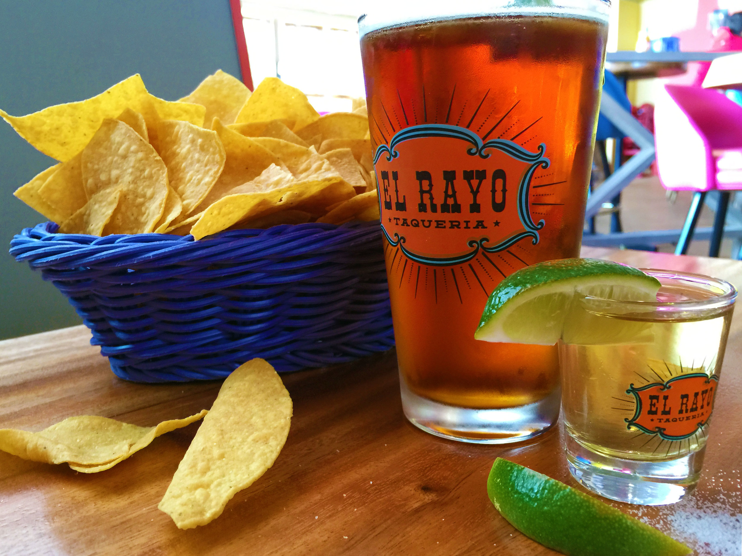 El Rayo Glassware