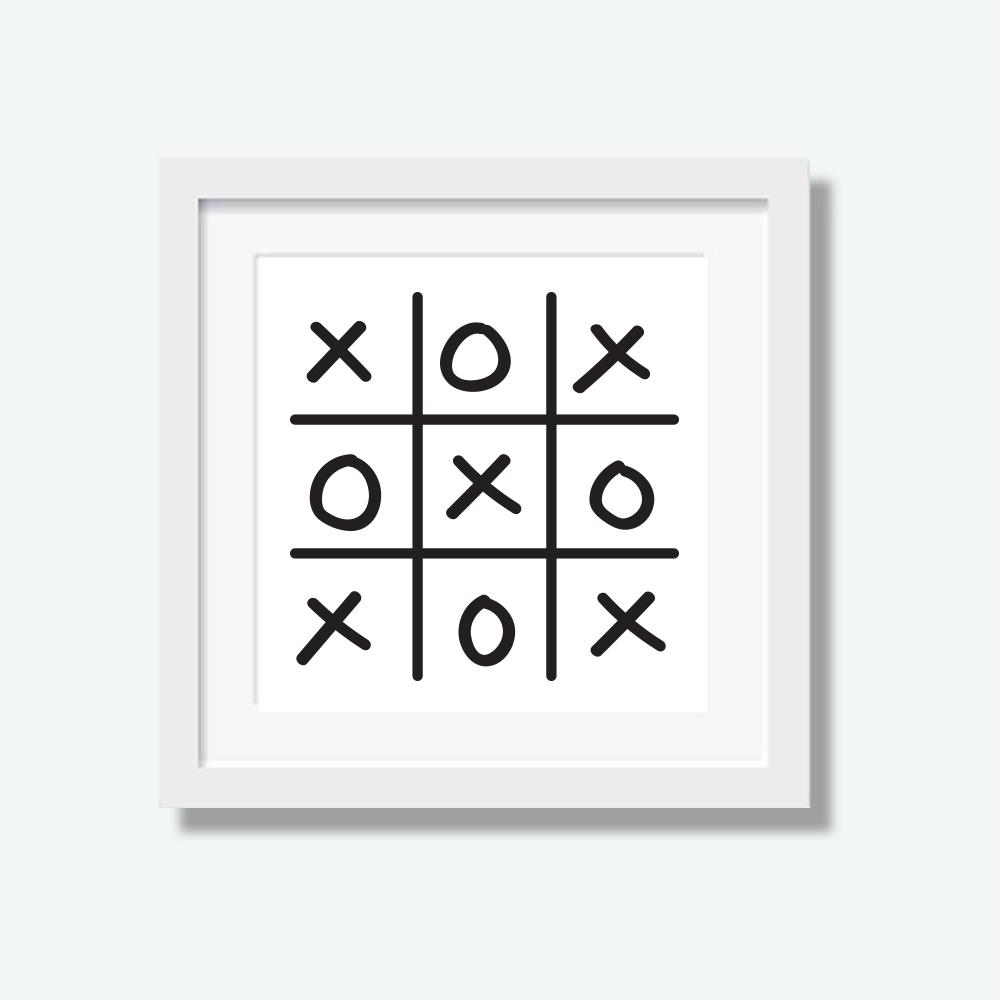 XOXO Print