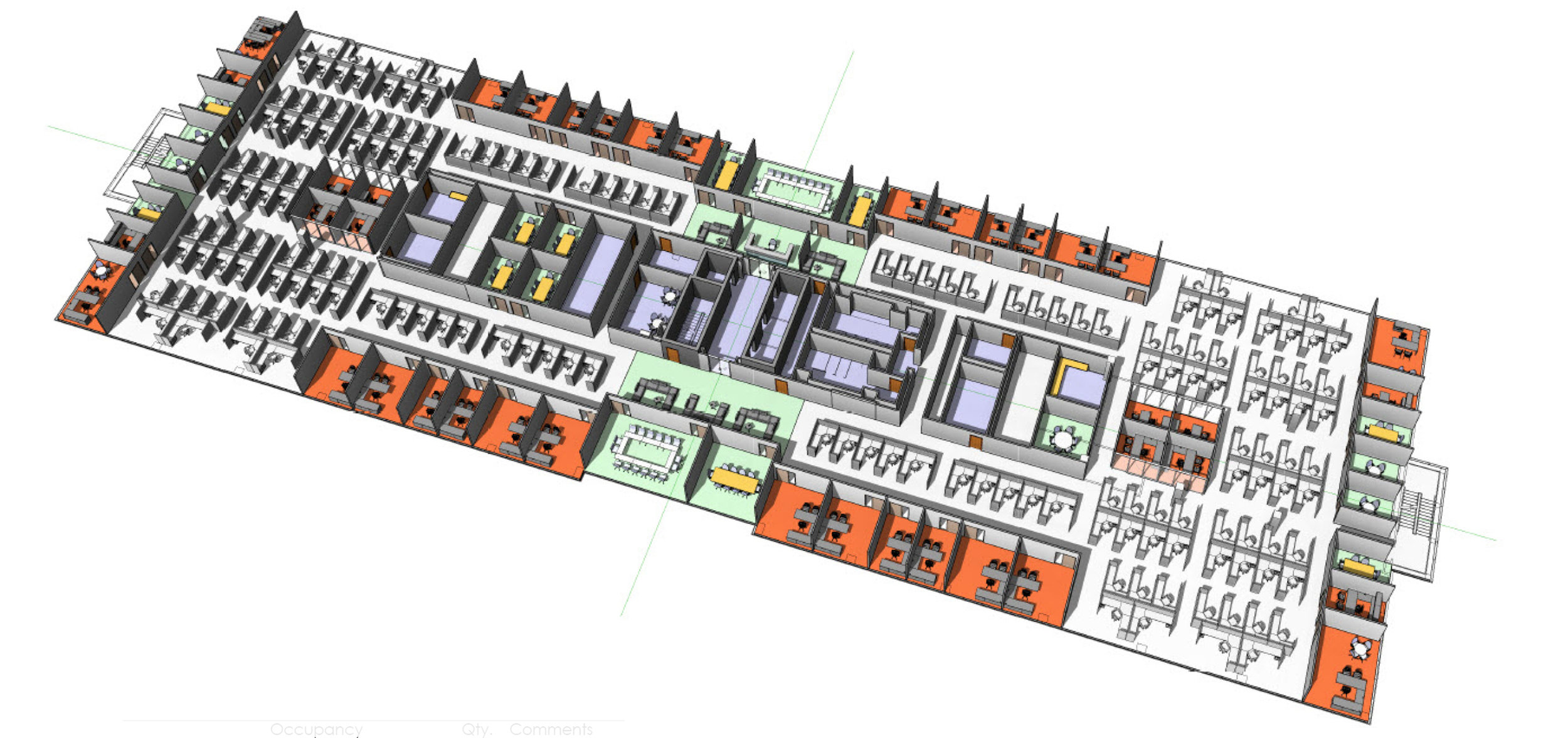 5th Floor Traditional Layout